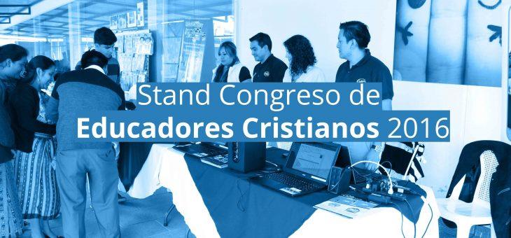 Nuestro stand en el congreso de Educadores Cristianos ACSI 2016!!!